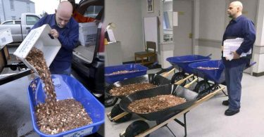 Man Pays Settlement, Down To The Penny