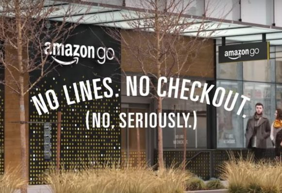Amazon having difficulties with their no-cashier concept store - security holes need patching.